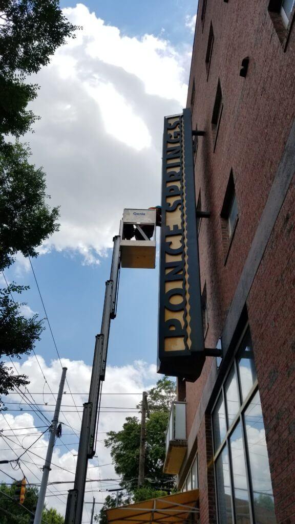 LED sign lighting Atlanta