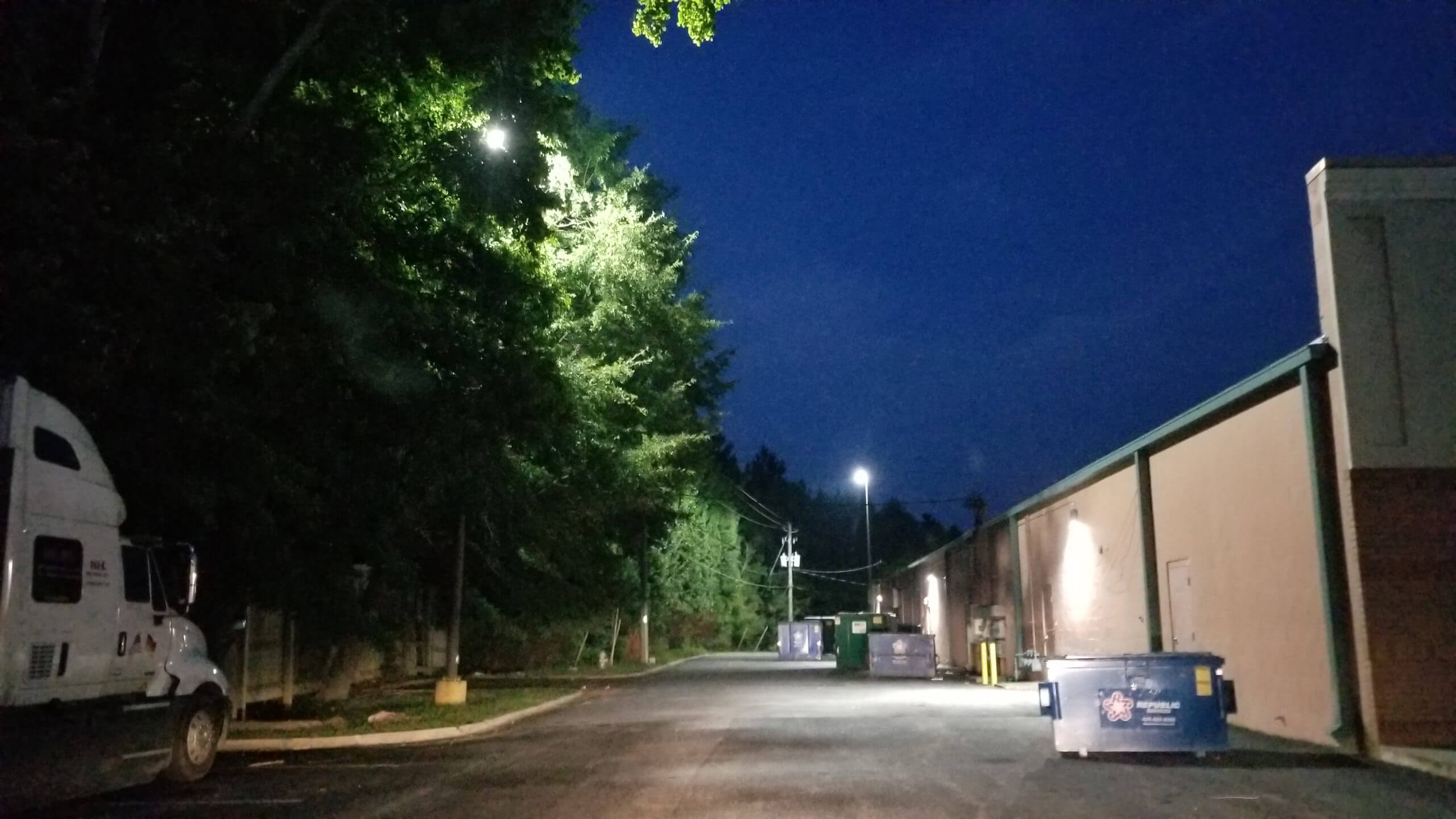 LED Conversion for security