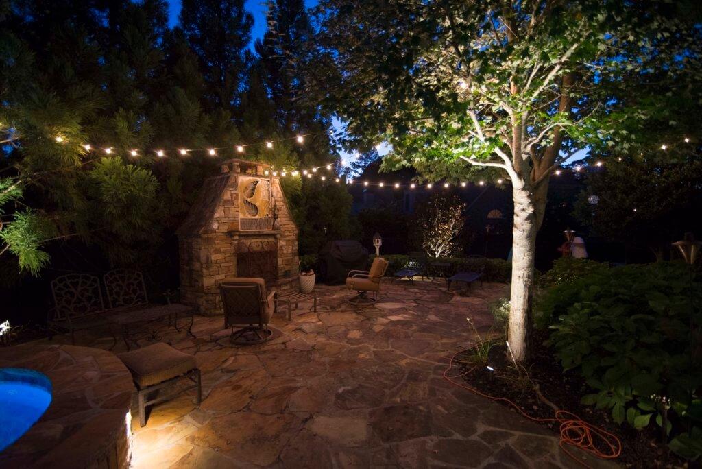 LED string lighting Roswell GA