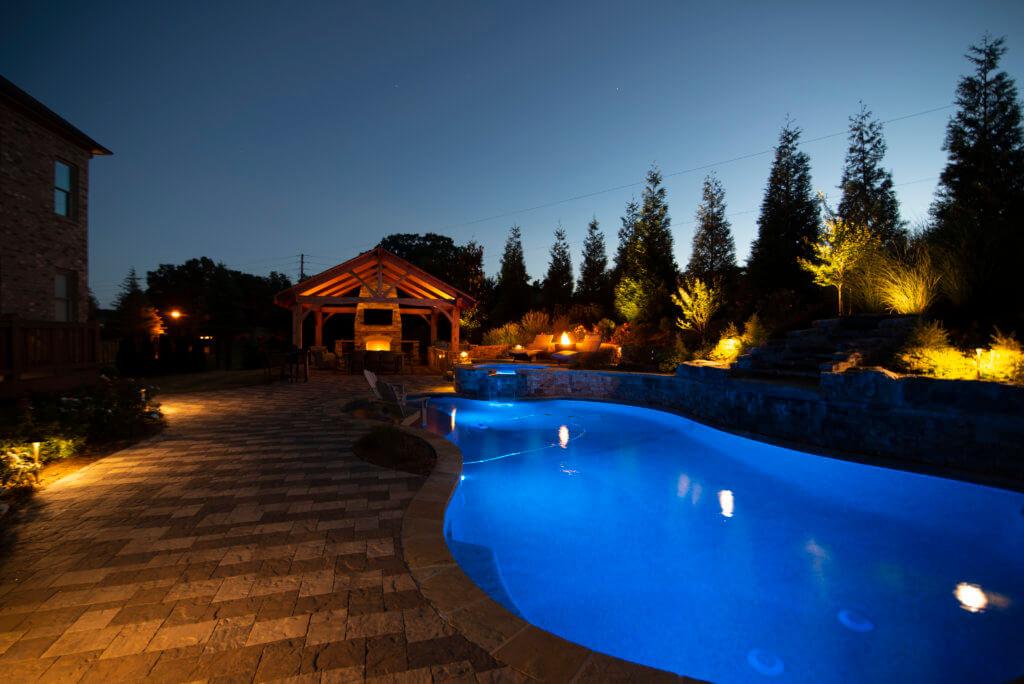 LED pool lighting and deck lighting Milton GA