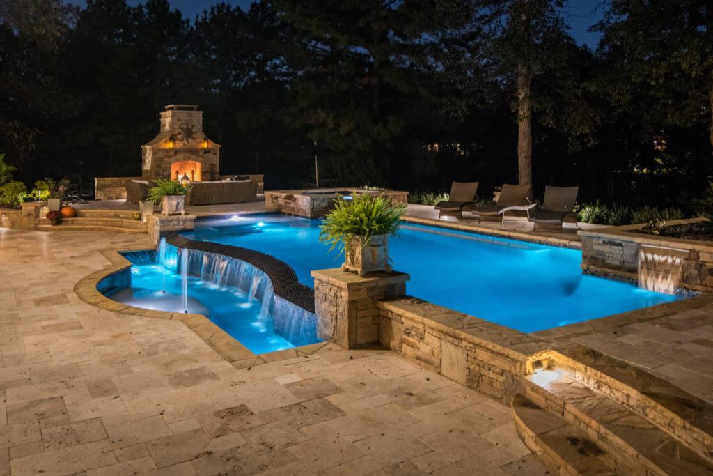 LED pool lighting Atlanta