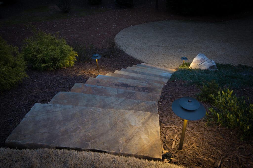 Pathway lighting Landscape Lighting Milton Georgia