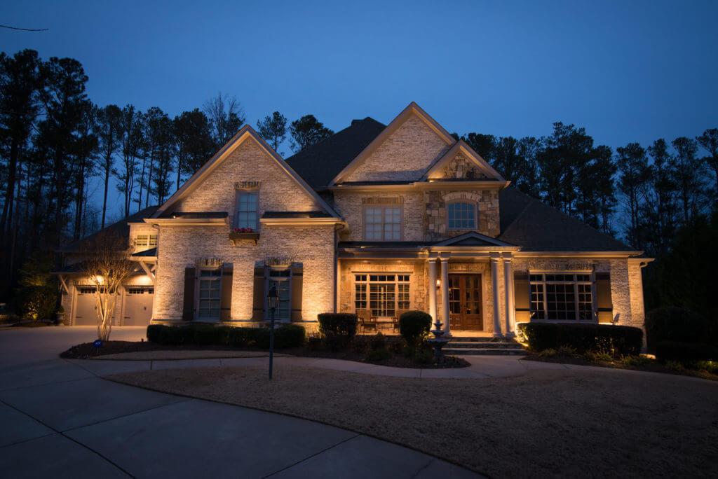 Up Lighting Landscape Lighting Milton GA