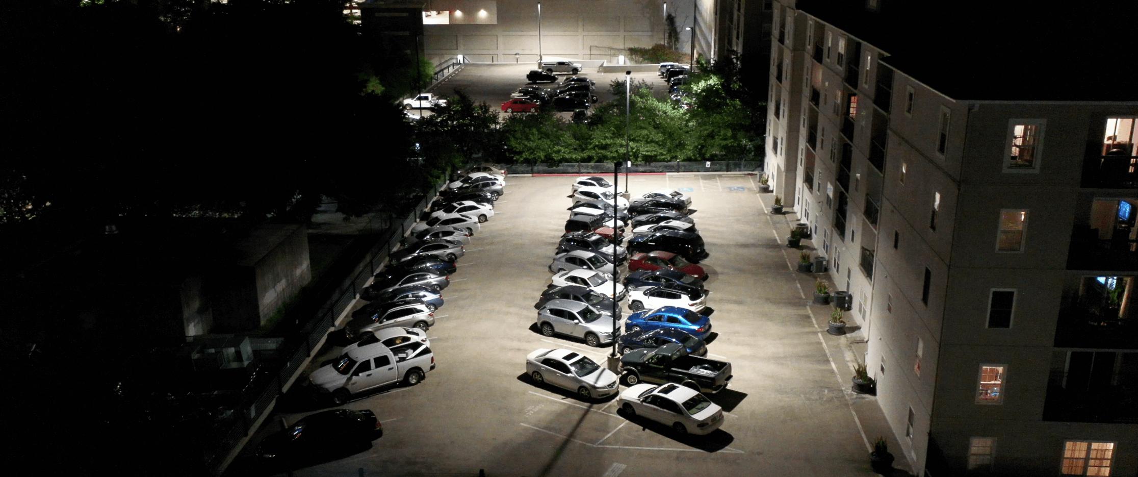 LED Conversion Parking deck Atlanta