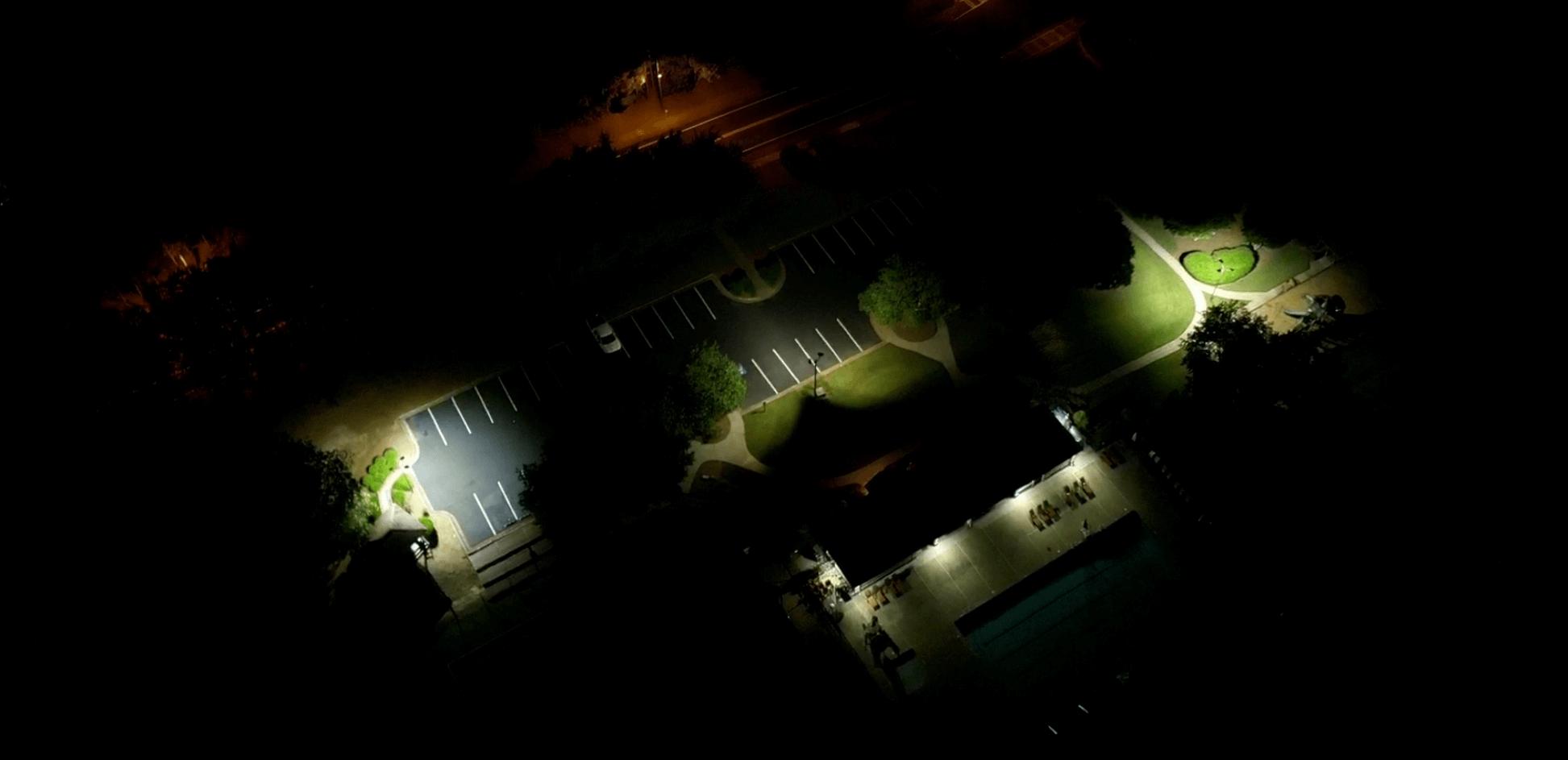 HOA Parking and community area LED Conversion Milton