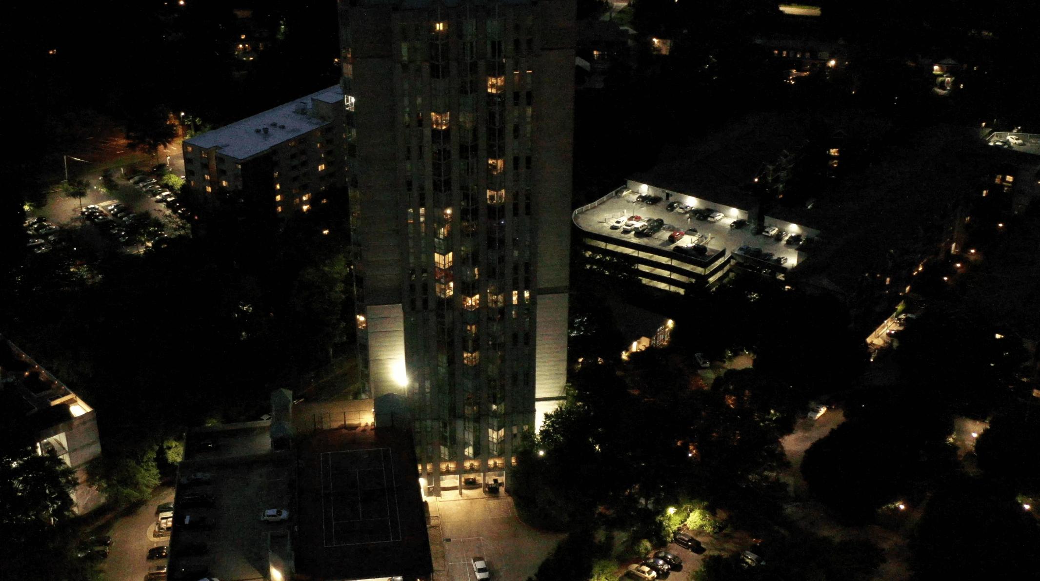 Condominium parking deck LED Conversion Atlanta