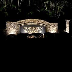 HOA entrance lighting