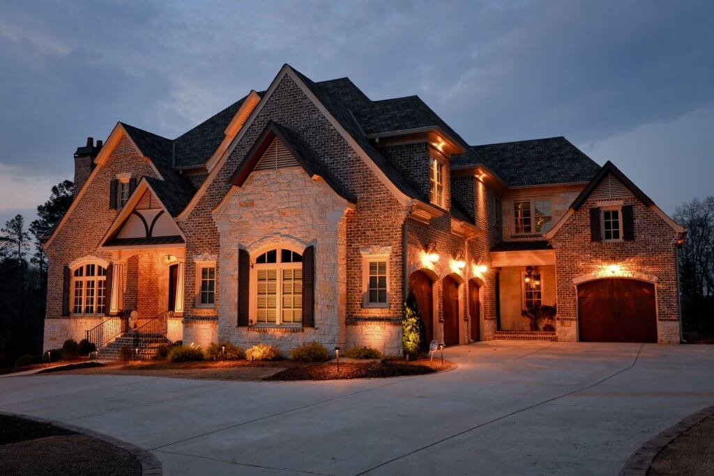 Up Lighting Landscape Lighting Alpharetta GA